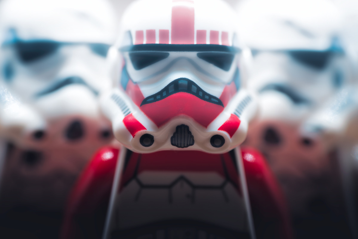 Team of stormtroopers - slon.pics - free stock photos and illustrations