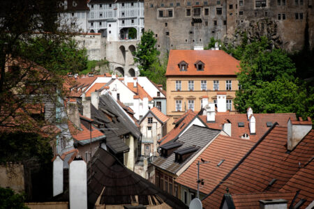 View of Český Krumlov - slon.pics - free stock photos and illustrations