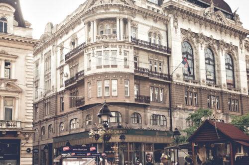 View of Knez Mihailova Street. Belgrade, Serbia - slon.pics - free stock photos and illustrations